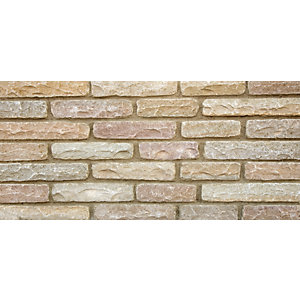 Marshalls Fairstone Tumbled Autumn Bronze Walling Pack 220mm x 65mm x 100mm