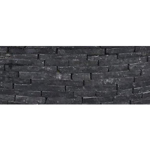 Natural Paving Walling Carbon Black Cottagestone Walling Mix Pack