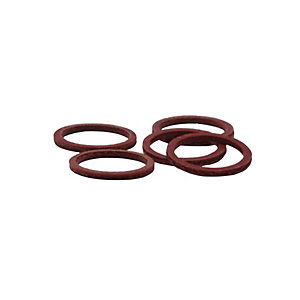 4TRADE 1/2in Fibre Tap Washer (Pack of 10)
