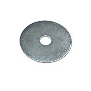 4TRADE Steel Mudguard Washer M5 x 25 Bright Zinc Plated PK50