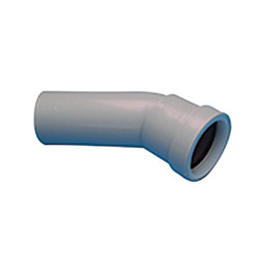 Osma Push-Fit Waste 5W166G 40mm Spigot Bend 30° Grey
