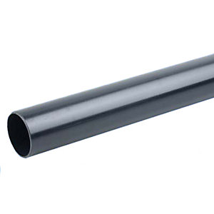 Osma PVC-C Solvent Weld Waste 4M073B 32mm Plain Ended Pipe Black 3M