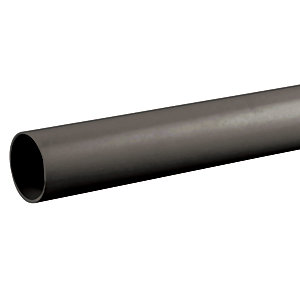 Osmaweld Waste Black Plain Ended Pipe 3m ABS 40mm