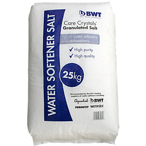 BWT Water Softener & Dishwasher Care Crystals Granular Salt 25KG