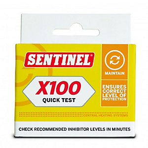Sentinel Kit x 100T/QT/GB Quick Water Test for 2 Systems