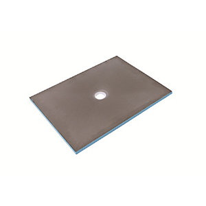Wedi Primo Wet Room Tray 1200mm x 900mm with Central Drain 07-37-35/174