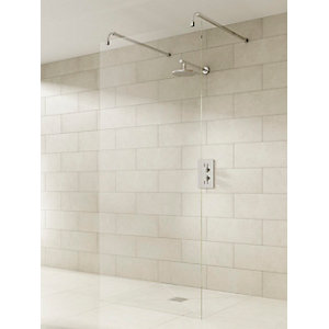 iflo Linear Wet Room Panel and Kit 800mm