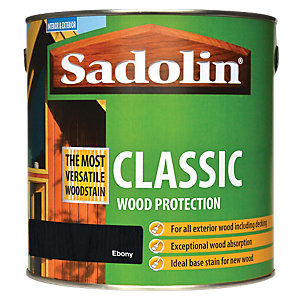 Sadolin Classic Wood Protection Ebony 2.5L