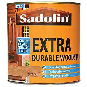 Sadolin Extra Durable Woodstain Light Oak 1L