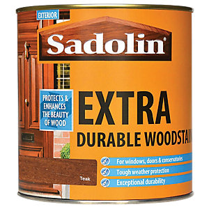 Sadolin Extra Durable Woodstain Teak 1L