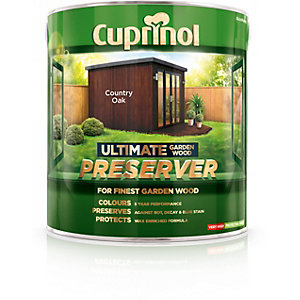 Cuprinol Ultimate Garden Wood Preserver Country Oak 4L