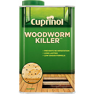 Cuprinol Woodworm Killer (Wb) 1L