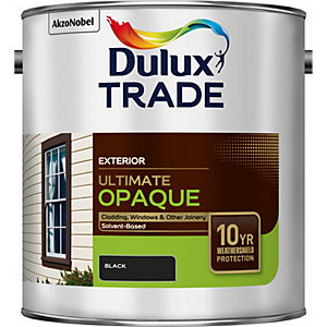 Dulux Trade Weathershield Ultimate Opaque Black 2.5L