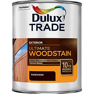 Dulux Trade Weathershield Ultimate Woodstain Rosewood 1L