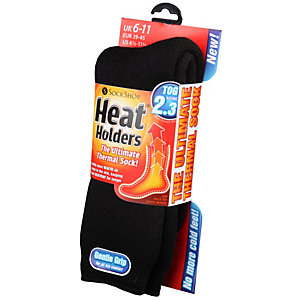 David James Heat Holder Thermal Socks Black Size 6 - 11