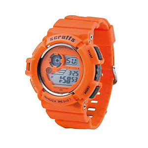Scruffs Sports Waterproof Work Watch Orange