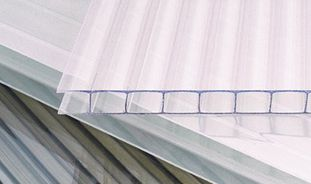 Polycarbonate - Corrugated roofing sheet