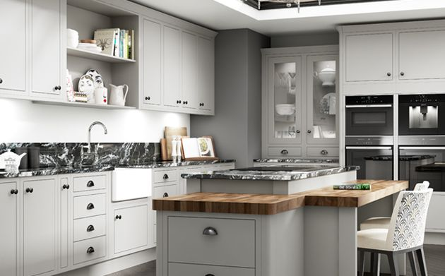 Dove Grey Kitchen Cabinets