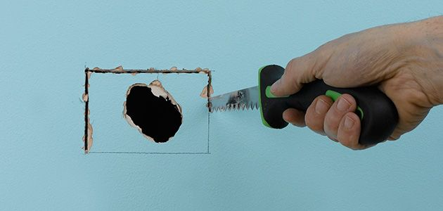 Fix Hole In Plaster Wall