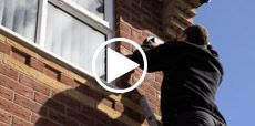 Video guide showing how to fit a security alarm