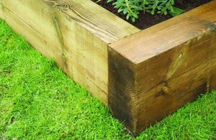 Shop all Garden Sleepers & Raised Bed Kits