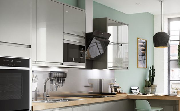 Sofia Pewter Kitchen Wickes Co Uk