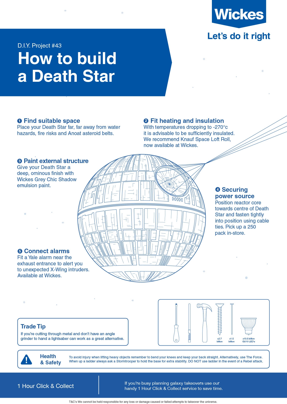 Starwars | Wickes.co.uk