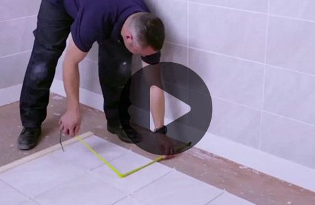 How To Tile A Bathroom Floor Wickes