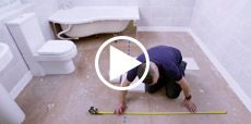 Video guide to tiling a floor
