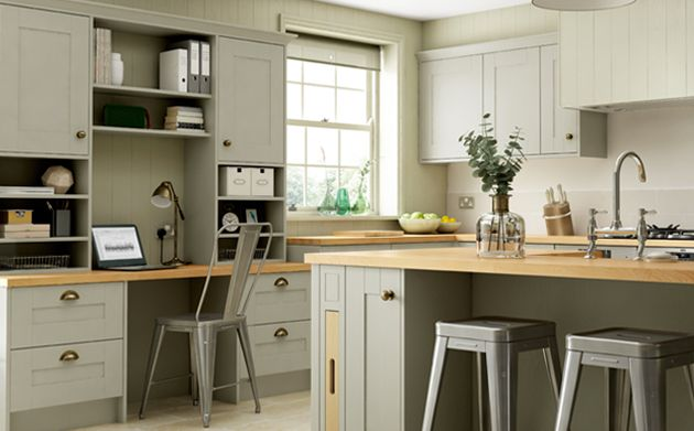 tiverton sage green kitchen wickescouk - Sage Kitchen