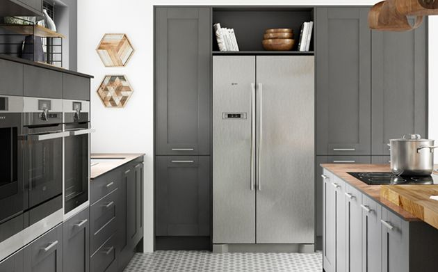 Tiverton Slate Kitchen Wickescouk - Slate grey kitchen units