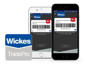 Becoming wickes trade pro memeber