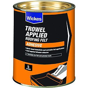 Trowel applied Felt Adhesive